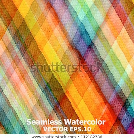 зеленый полосатый текстильной шаблон Сток-фото © evgeny89