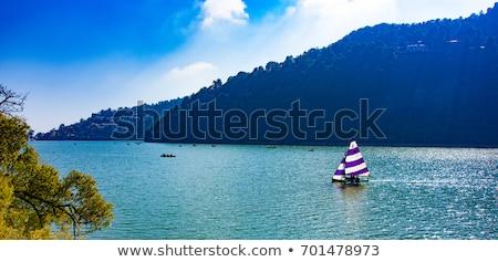 Pequeno lago himalaia vale água paisagem Foto stock © dmitry_rukhlenko
