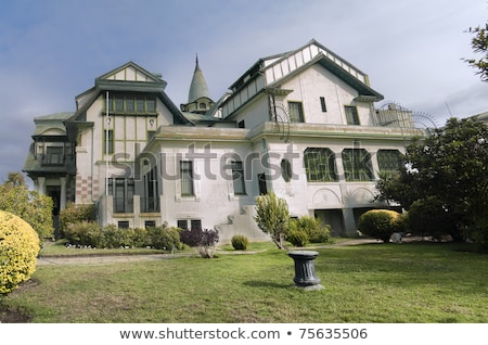 Croatian-style palace in Chile Stock photo © fxegs