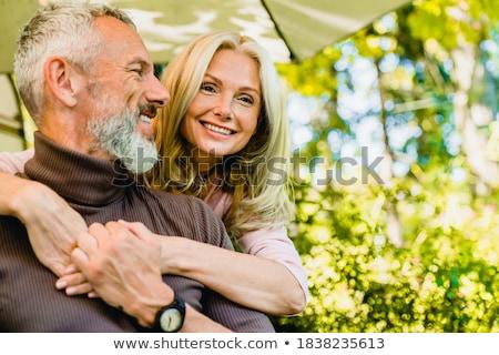 Női pár sétál természet napos idő nyár Stock fotó © CandyboxPhoto