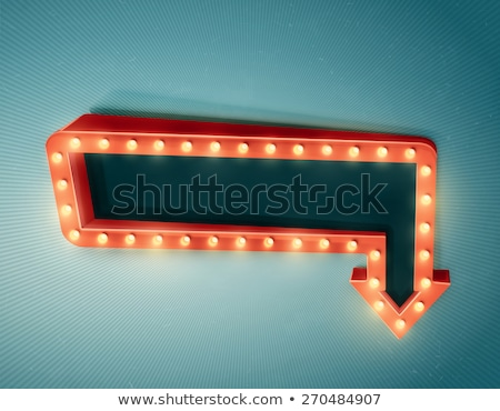 Blank Arrow Billboard Stock photo © Lightsource