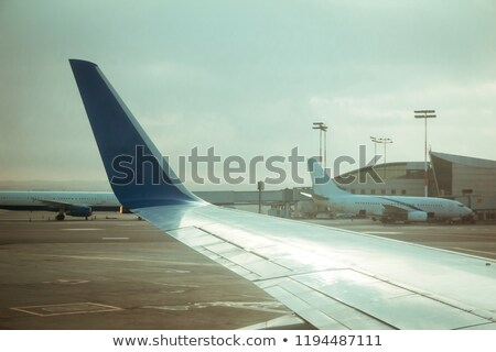 Israeli Planes at Ben-Gurion Airport Stock photo © eldadcarin