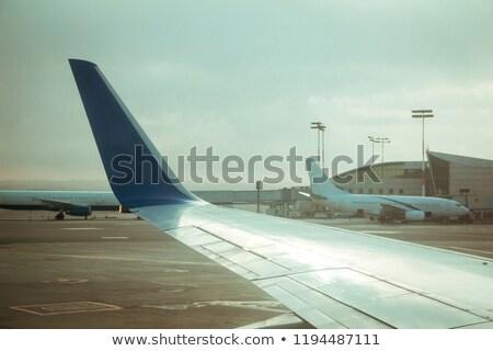 israelense · aviões · comercial · jato · aeroporto - foto stock © eldadcarin