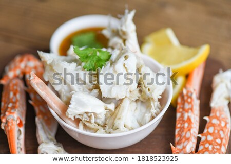 Swimming crab Stock photo © zzve
