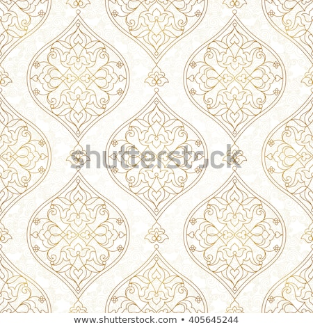 seamless islamic moroccan floral pattern  Stock photo © creative_stock