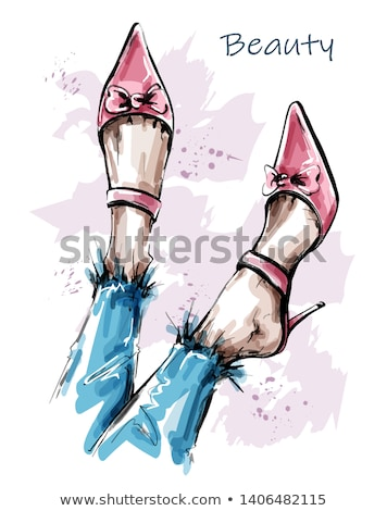 güzel · kadın · bacaklar · ayakkabı · moda - stok fotoğraf © PavelKozlovsky