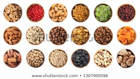 Set of nuts and dry berries Stock photo © boroda
