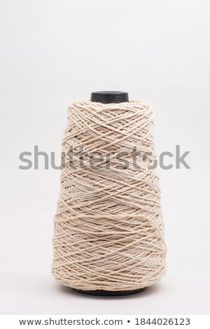 красный · потока · катушка · ткань · рукоделие · швейных - Сток-фото © bdspn