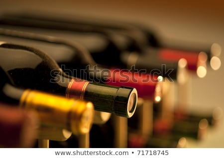 Bottles of wine shot with limited depth of field Stock photo © alex_grichenko