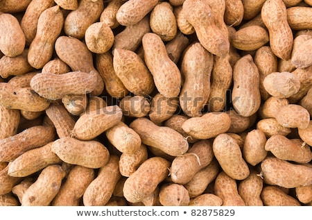 close up of some peanuts background stock photo © ozaiachin