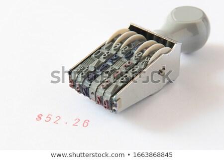 Necessidade dinheiro carimbo financeiro papel negócio Foto stock © fuzzbones0