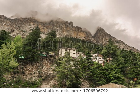 bhagirathi river at gangotri uttarkashi district uttarakhand stock photo © imagedb