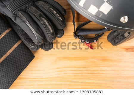 motorcyclist, bottom view Stock photo © Paha_L
