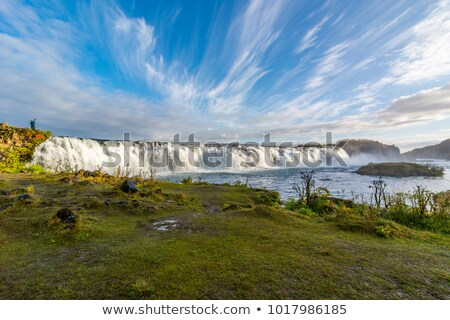 Faxi waterfall, Iceland Stock photo © TanArt
