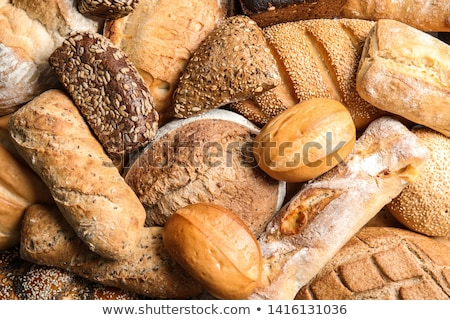 Fraîches pain isolé blanche boulangerie fond blanc Photo stock © FOKA