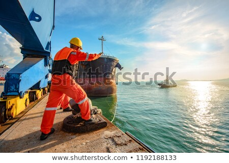 corda · pormenor · proteger · barco · navegação - foto stock © digifoodstock