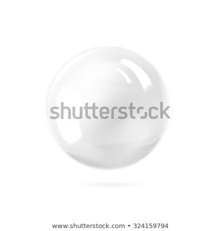 3D white perl sphere Stock photo © djmilic