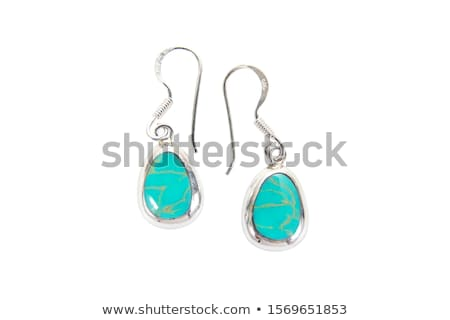 colorful water drop and earring shape stock photo © cidepix