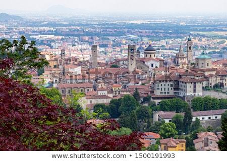 Street in the city of Bergamo Stock photo © OleksandrO