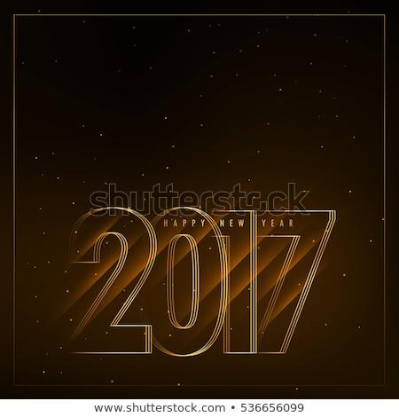 節日 新年 對角線 燈 快樂 商業照片 © SArts
