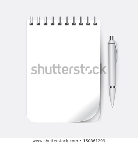 Page Curl & Pen Stock photo © restyler
