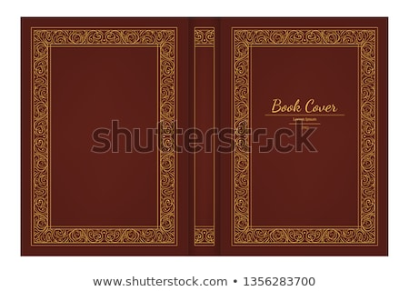 Idea Design Concept. Book Title. 3D. Stock photo © tashatuvango