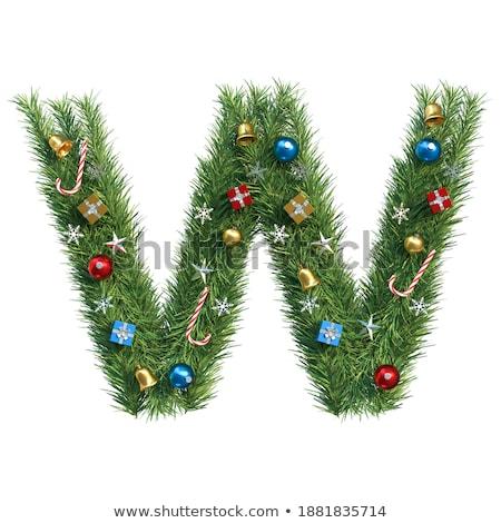 Joyeux Noël happy new year illustration vintage bois Photo stock © articular