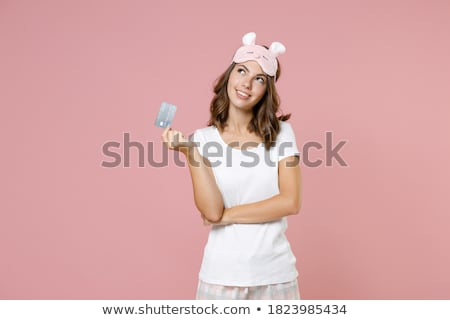 Woman Holding Underwear Stock photo © AndreyPopov