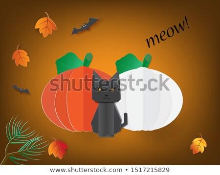 sütőtök · 3D · kép · ünnepi · halloween · izolált - stock fotó © djmilic