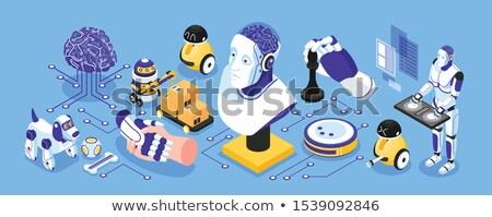 смартфон робота новых технологий искусственный интеллект научная фантастика Сток-фото © studiostoks