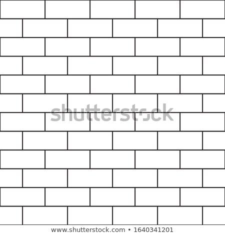 Klasszikus kőfal átló vonalak háttér fal Stock fotó © boggy