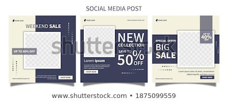 Online Brochures with Premium Discounts, Big Sale Stock fotó © robuart