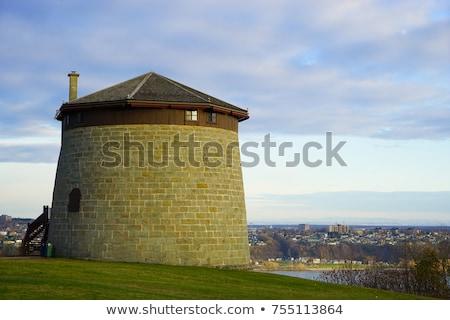 Torre cidade Quebec paisagem verão castelo Foto stock © Lopolo