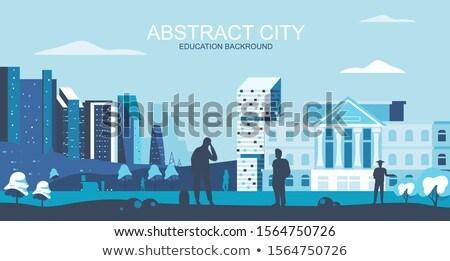 College campus concept banner header Stock photo © RAStudio