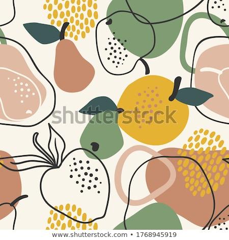 яблоки груши другой плодов продажи рынке Сток-фото © elxeneize