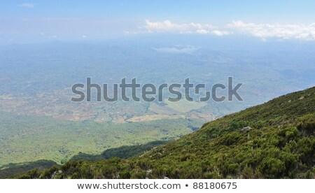 Around Mount Muhavura Photo stock © PRILL