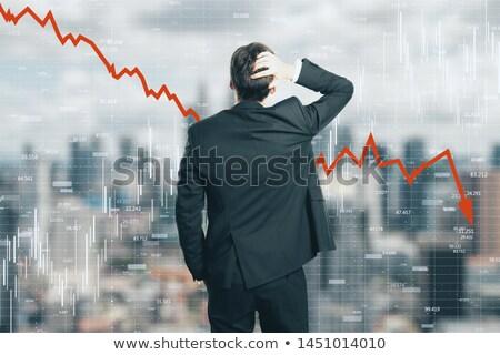 üzletember · érzés · fájdalom · iroda · kéz · munka - stock fotó © photography33
