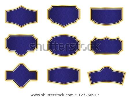 темно синий винограда Этикетки текстуры Сток-фото © liliwhite