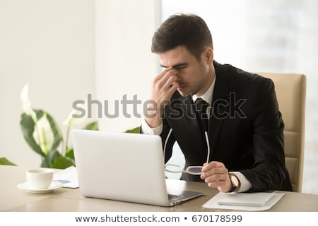 businessman overwhelmed with work Stock photo © photography33