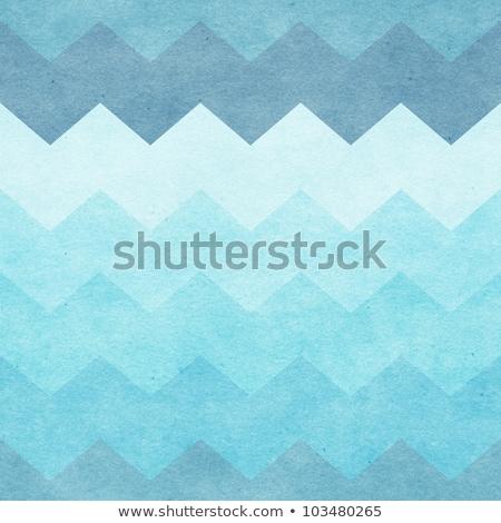 Seamless chevron pattern with old paper texture Stock photo © Elmiko