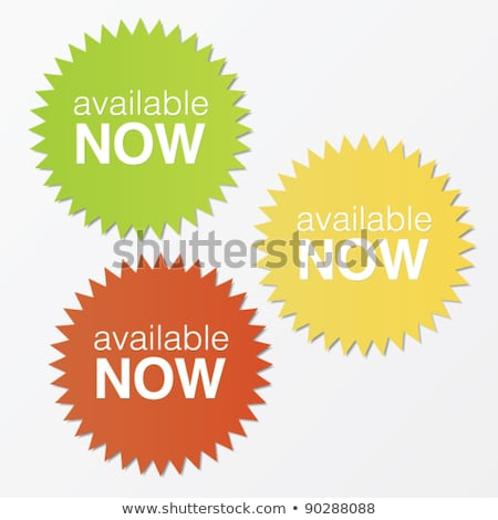 order now on red star banner Stock photo © marinini