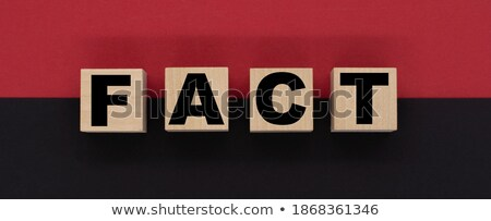 education news on red puzzle stock photo © tashatuvango