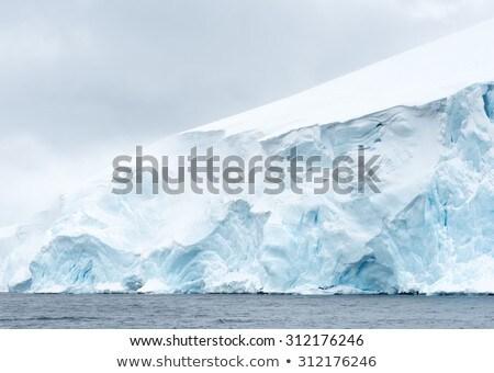 Vicino view ghiacciaio inverno viaggio montagna Foto d'archivio © michaklootwijk