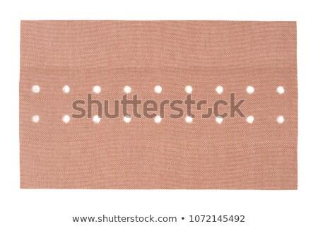 клей · повязка · ткань · пальца · короткий · медицинской - Сток-фото © shutswis