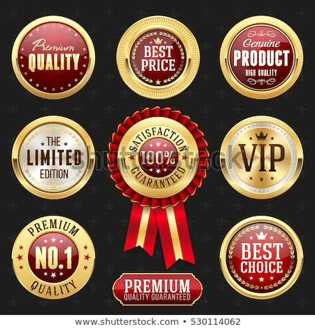 Great Offer golden Vector Icon Design Stock photo © rizwanali3d