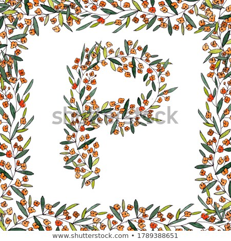 illustration background with colorful swirls ornaments and precious stones stock photo © yurkina