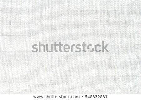 Branco tecido textura pormenor abstrato Foto stock © homydesign