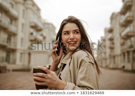 jóvenes · mujer · sexy · retrato · de · moda - foto stock © neonshot