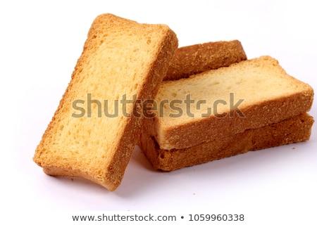 bowl of crispy rusks Stock photo © Digifoodstock