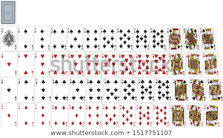 Royal flush from the poker cards  Stock photo © inxti